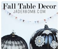 DIY Black Pumpkins