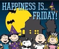 Happiness is Friday
