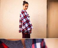 No Sew Flannel Cape