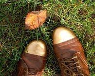 Gold Tip Combat Boots