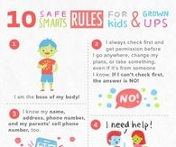 10 Safe Smart Rules For Kids