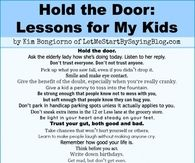 Lessons To Teach Your Kids