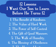 11 lessons I want my son to learn