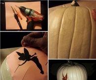 DIY Tinkerbell Pumpkin