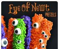 Eye Of Newt Chocolate Pretzels