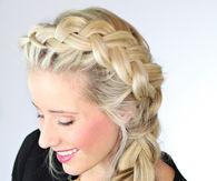 Elsa from frozen / dutch side braid