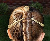 Mummy hairdo