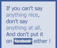 dont put it on FB