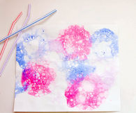 Bubble Paint Craft