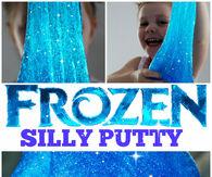 Frozen silly putty