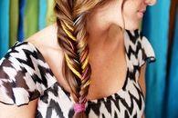 Yarn style fishtail braid