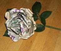 DIY Money Flower