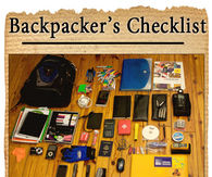 Backpackers Checklist