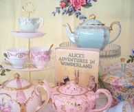 Vintage Pink & Blue Tea Sets