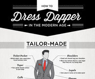 How to dress dapper