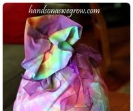 Tie Dyed Pillowcase