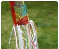 Image result for bottle windsock