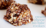 Cream cheese no bake cookies