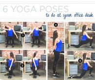 6 yoga poses to do at your office