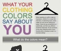 What your clothing color says about you