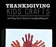 Thanksgiving kids craft painting