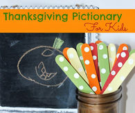 Thanksgiving pictionary for kids