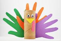 Paper roll turkeys