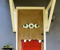 Monster Door Halloween Decoration