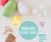 Yarn Ball Display