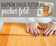 Pocket Fold Napkin