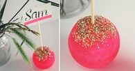 Pop glitter placeholders