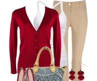 Dressy Casual Autumn Ensemble