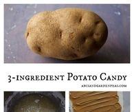 3 Ingredient Potato Candy