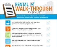 Rental Walk Through Checklist Pictures, Photos, and Images for ...