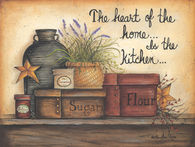 The Heart of the Home is in the Kitchen