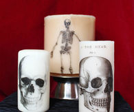 Printed Halloween Candles