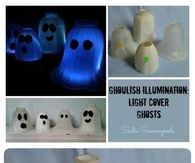 Ghoulish illumination light cover ghosts