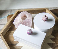 DIY Geode Jewelry Boxes