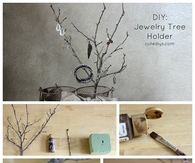 DIY Jewelry Tree Holder