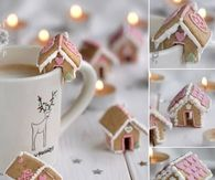 DIY Mini Ginger Bread Houses