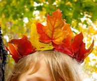 Maple leaf crowns