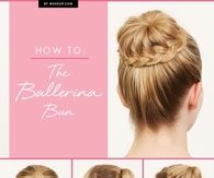 DIY Ballerina Bun Tutorial