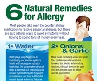 6 Natural Remedies For Allergies