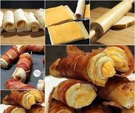 DIY Grilled Cheese Roll Ups