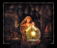 Witch Creating a Spell
