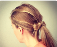 DIY Ponytail Bow