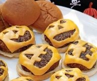Halloween Cheese Burgers