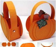 DIY Pumpkin Basket