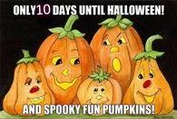 10 Days Till Halloween