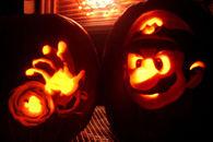 Super Mario Jack o Lantern